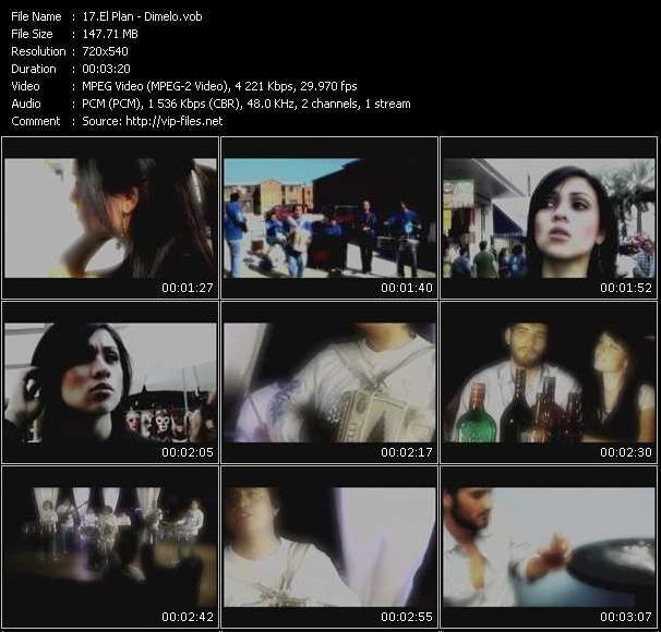 El Plan HQ Videoclip «Dimelo»