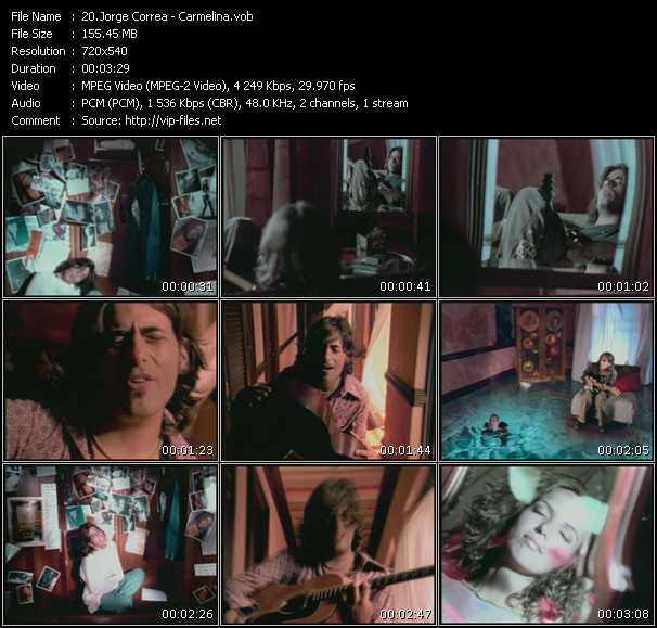 Jorge Correa HQ Videoclip «Carmelina»