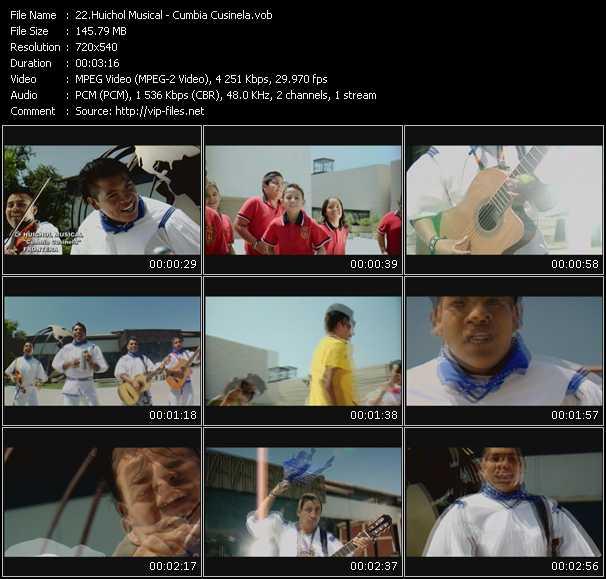 Huichol Musical HQ Videoclip «Cumbia Cusinela»