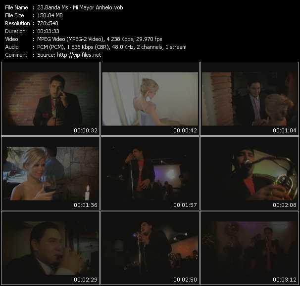 Banda Ms HQ Videoclip «Mi Mayor Anhelo»