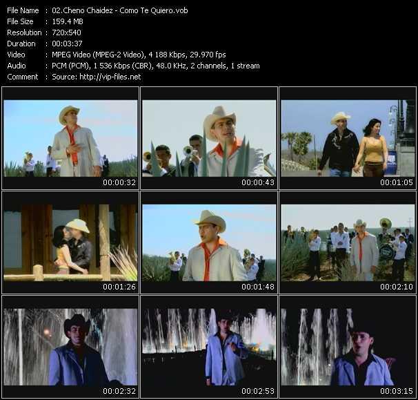 Cheno Chaidez HQ Videoclip «Como Te Quiero»
