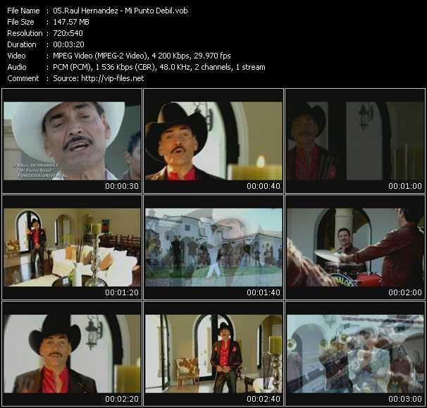 Raul Hernandez HQ Videoclip «Mi Punto Debil»