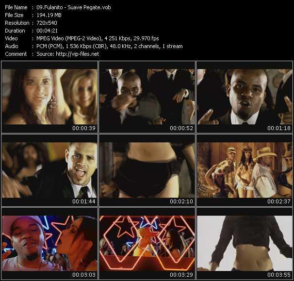 Fulanito HQ Videoclip «Suave Pegate»