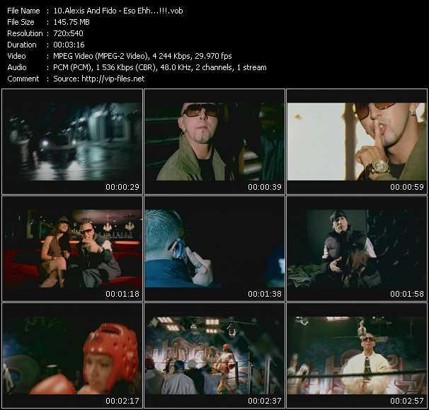 Alexis And Fido HQ Videoclip «Eso Ehh...!!!»
