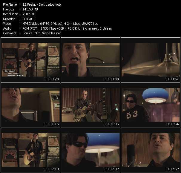 Frejat HQ Videoclip «Dois Lados»