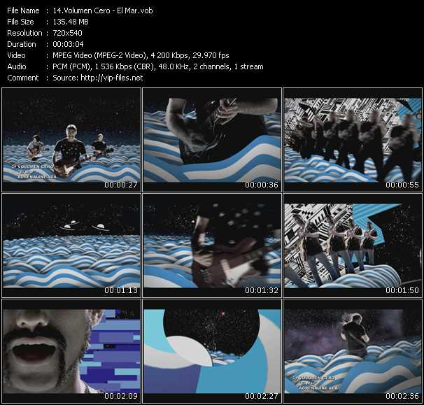 Volumen Cero HQ Videoclip «El Mar»