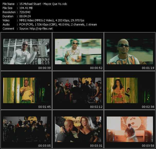 Michael Stuart HQ Videoclip «Mayor Que Yo»