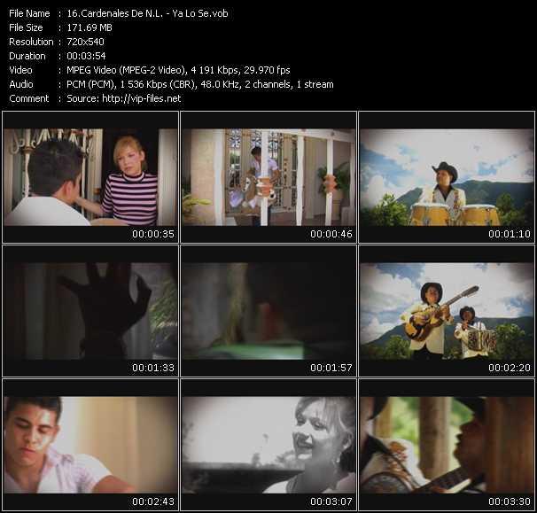 Cardenales De N.L. HQ Videoclip «Ya Lo Se»