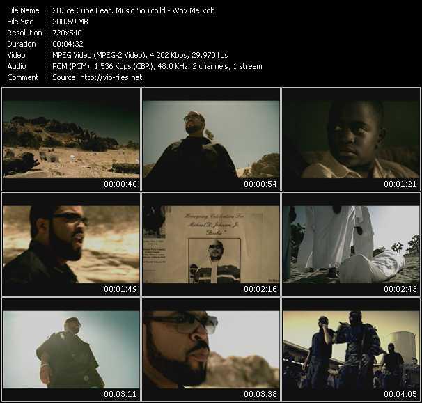 Ice Cube Feat. Musiq Soulchild HQ Videoclip «Why Me?»