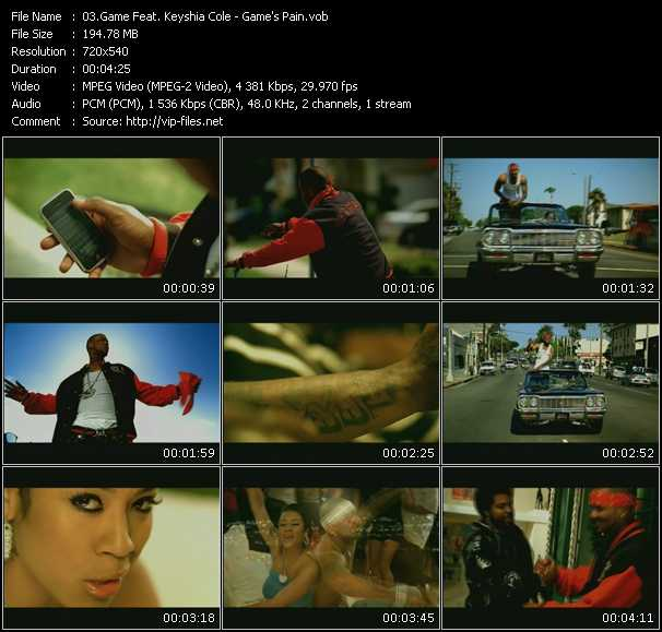 Game Feat. Keyshia Cole HQ Videoclip «Game's Pain»