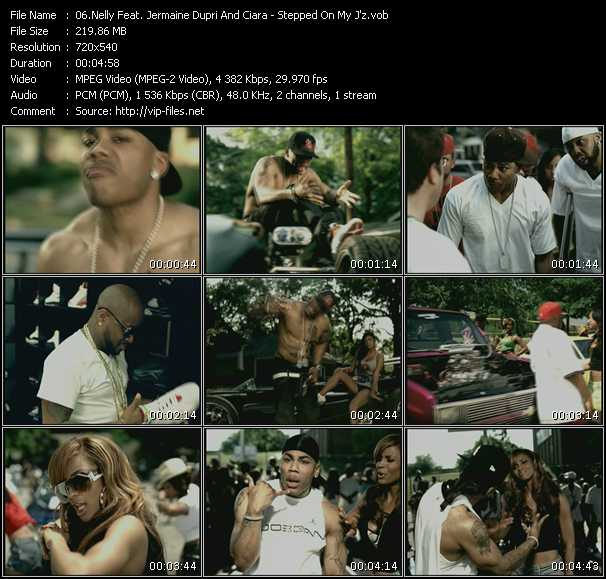 Nelly Feat. Jermaine Dupri And Ciara HQ Videoclip «Stepped On My J'z»