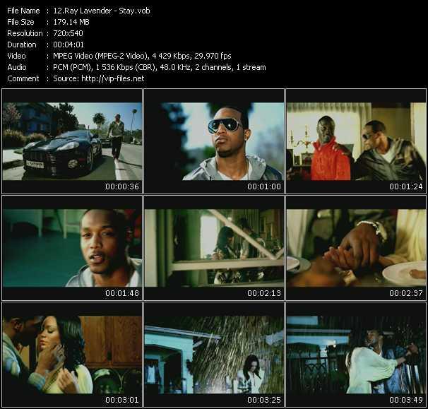 Ray Lavender HQ Videoclip «Stay»