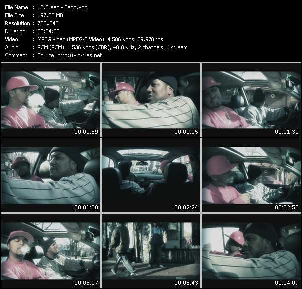 Breed HQ Videoclip «Bang»