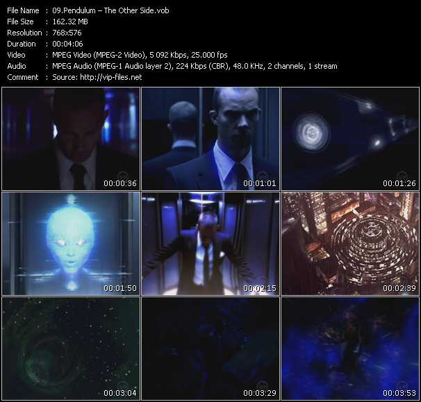 Pendulum HQ Videoclip «The Other Side»