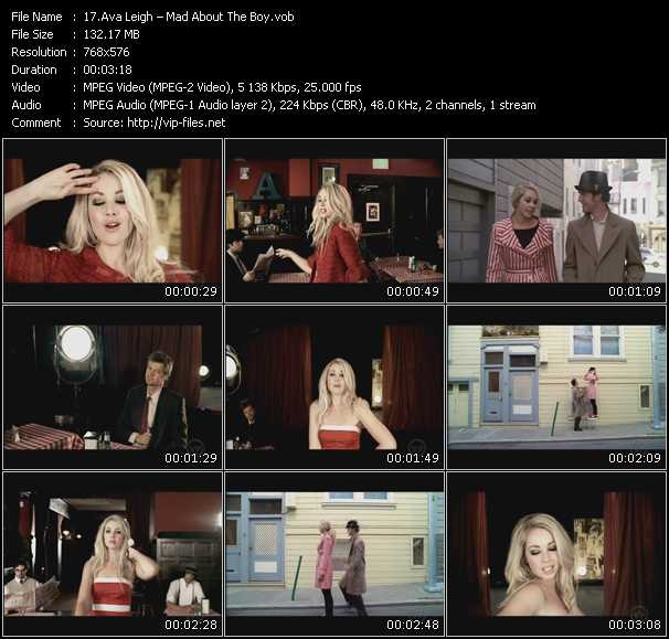 Ava Leigh HQ Videoclip «Mad About The Boy»