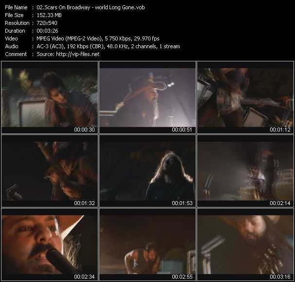 Scars On Broadway HQ Videoclip «World Long Gone»