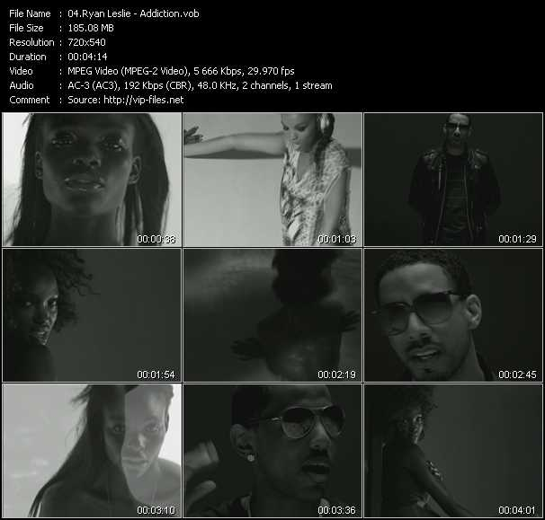 Ryan Leslie HQ Videoclip «Addiction»