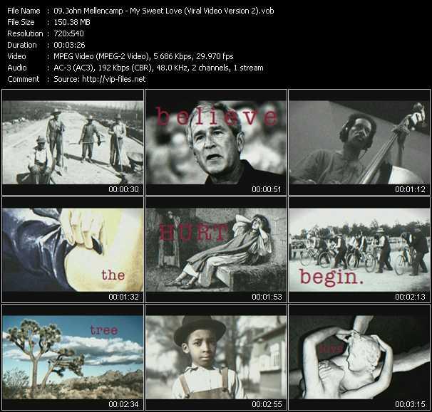 John Cougar Mellencamp HQ Videoclip «My Sweet Love (Viral Video Version 2)»