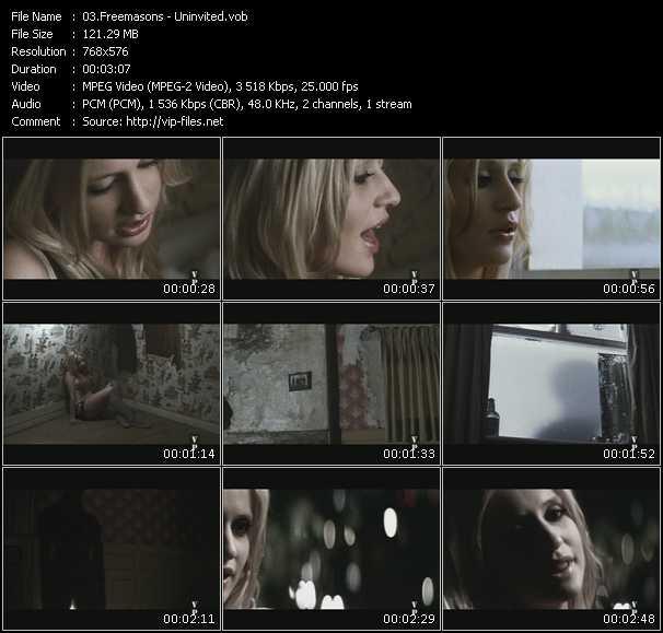 Freemasons HQ Videoclip «Uninvited»