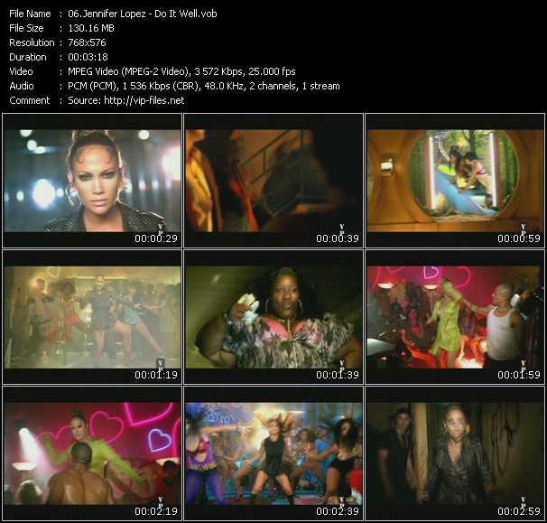 Jennifer Lopez HQ Videoclip «Do It Well»