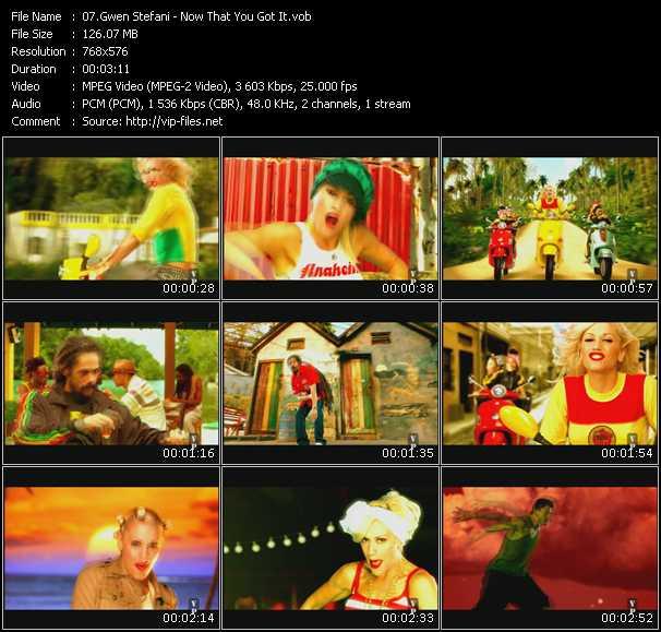 Gwen Stefani Feat. Damian Marley HQ Videoclip «Now That You Got It»