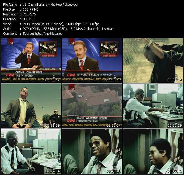 Chamillionaire HQ Videoclip «Hip Hop Police»