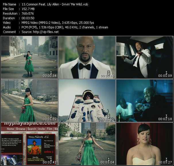 Common Feat. Lily Allen HQ Videoclip «Drivin' Me Wild»