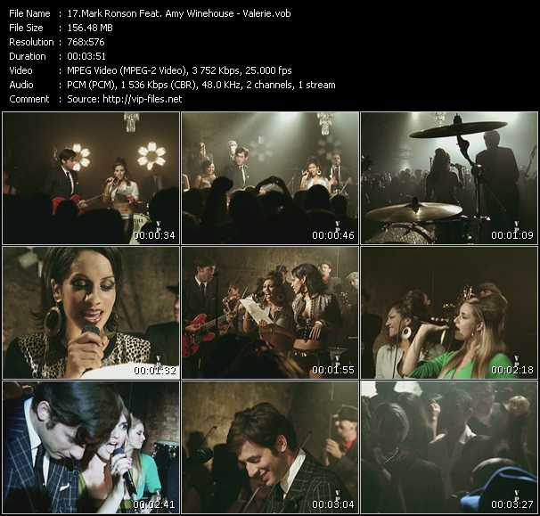 Mark Ronson And Amy Winehouse HQ Videoclip «Valerie»