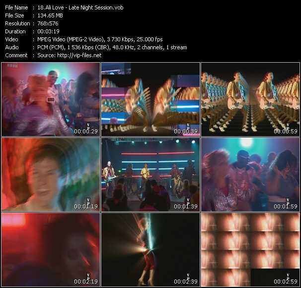 Ali Love HQ Videoclip «Late Night Session»