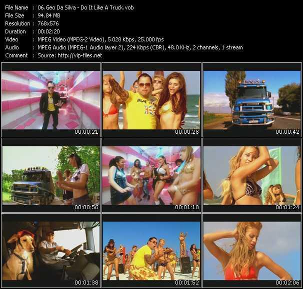Geo Da Silva HQ Videoclip «Do It Like A Truck»