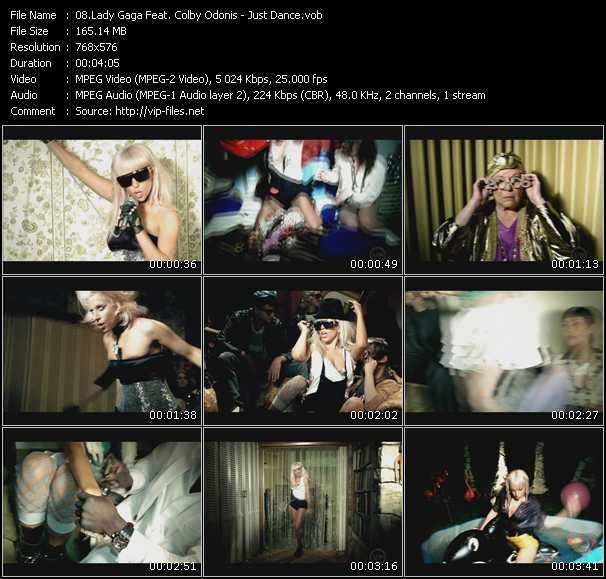 Lady Gaga Feat. Colby O'Donis HQ Videoclip «Just Dance»