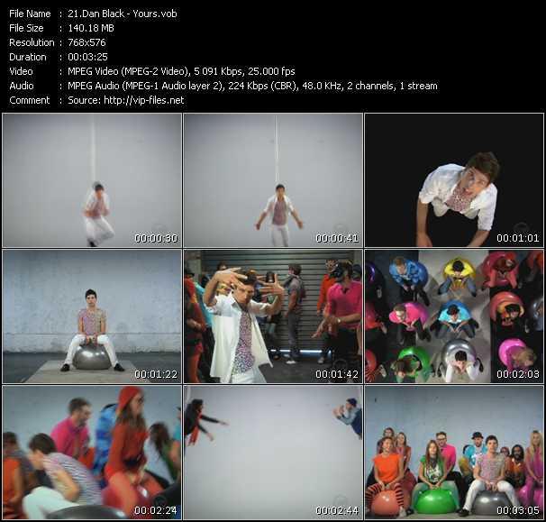 Dan Black HQ Videoclip «Yours»