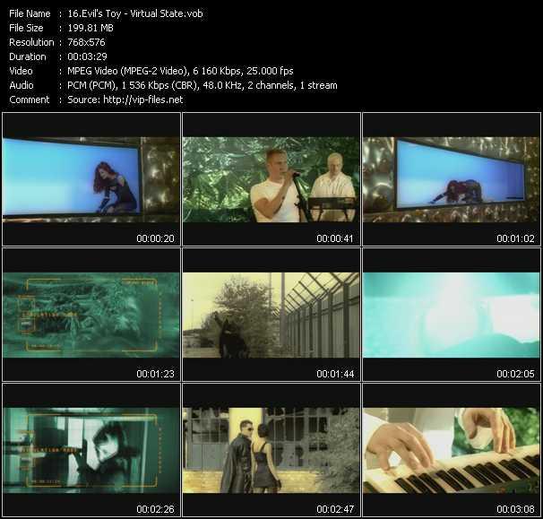 Evil's Toy music video Publish2