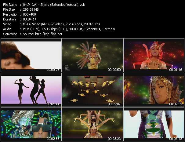 M.I.A. video - Jimmy (Extended Version)