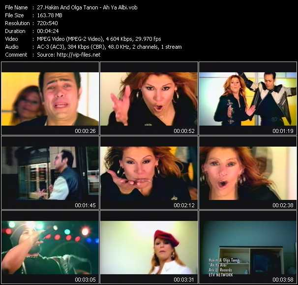 Hakim And Olga Tanon music video Publish2
