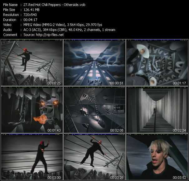 Red Hot Chili Peppers video - Otherside