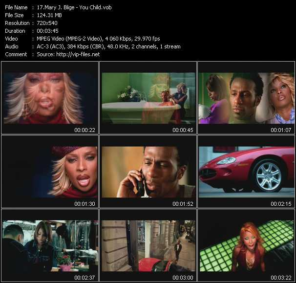Mary J. Blige video - You Child