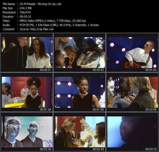 M People video - Moving On Up