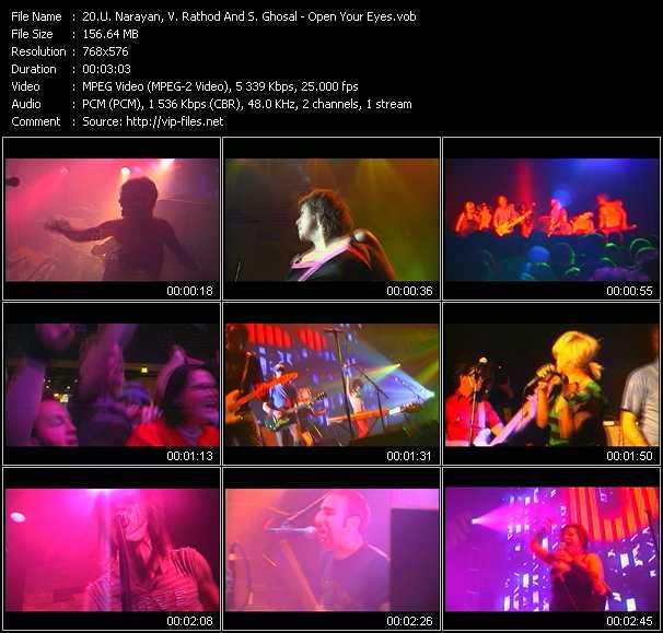 U. Narayan, V. Rathod And S. Ghosal music video Publish2