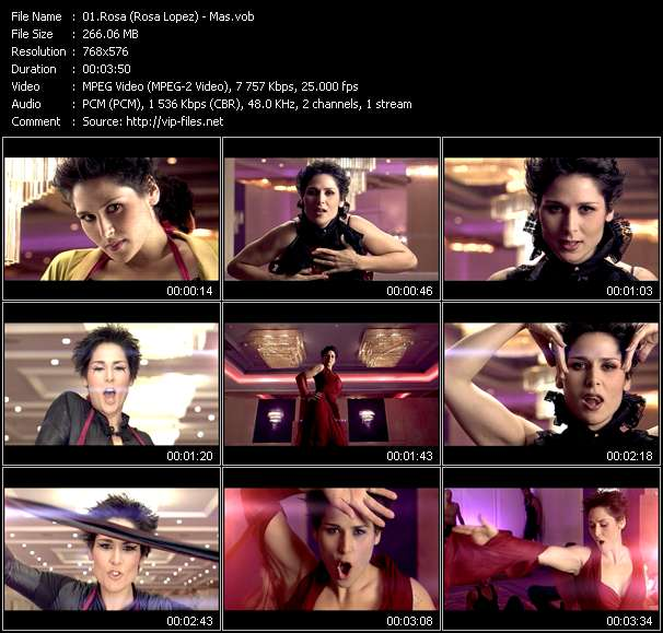 Rosa (Rosa Lopez) music video Publish2