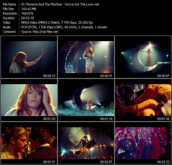 Florence And The Machine video - You've Got The Love