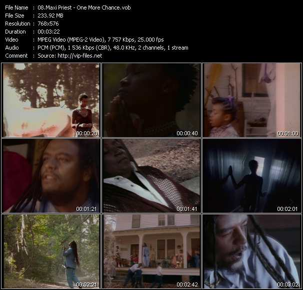 Maxi Priest video - One More Chance
