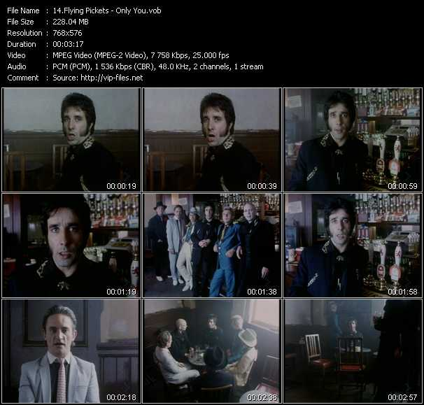 Flying Pickets video - Only You