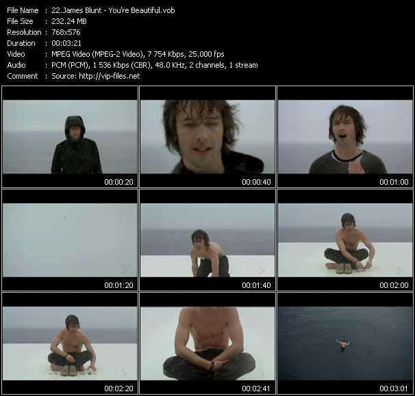 James Blunt video - You're Beautiful