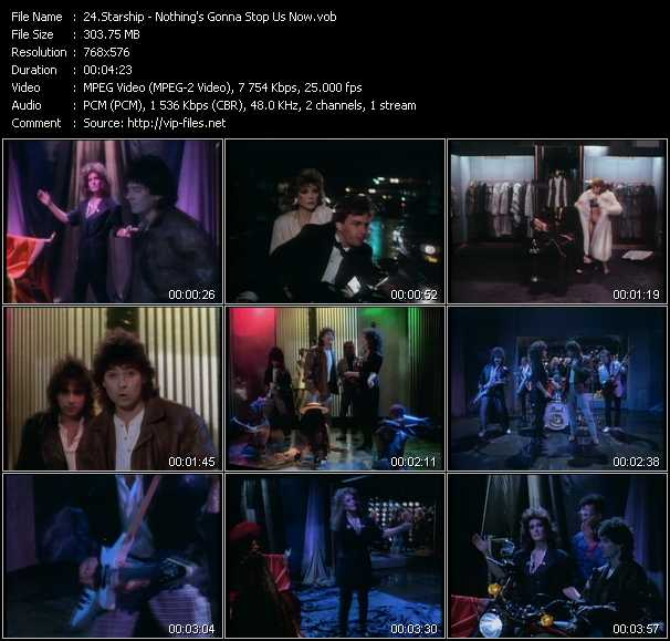 Starship (Jefferson Starship) video - Nothing's Gonna Stop Us Now
