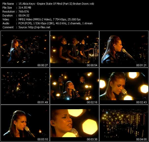 Empire State Of Mind Pt 2 Alicia Keys: Alicia Keys «Empire State Of Mind (Part II) Broken Down