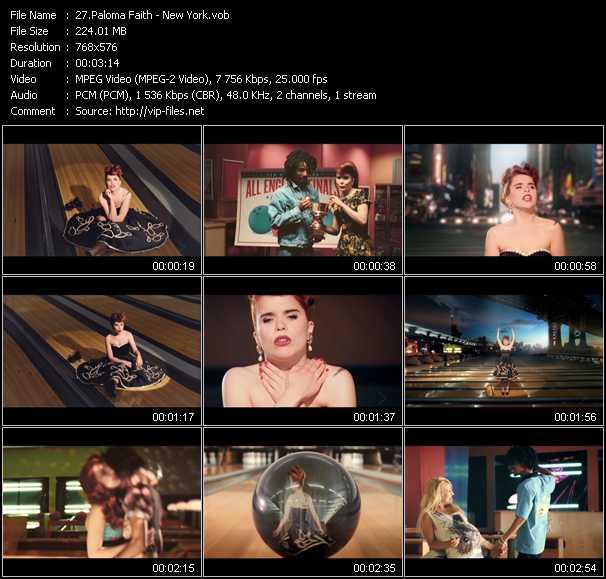Paloma Faith video - New York