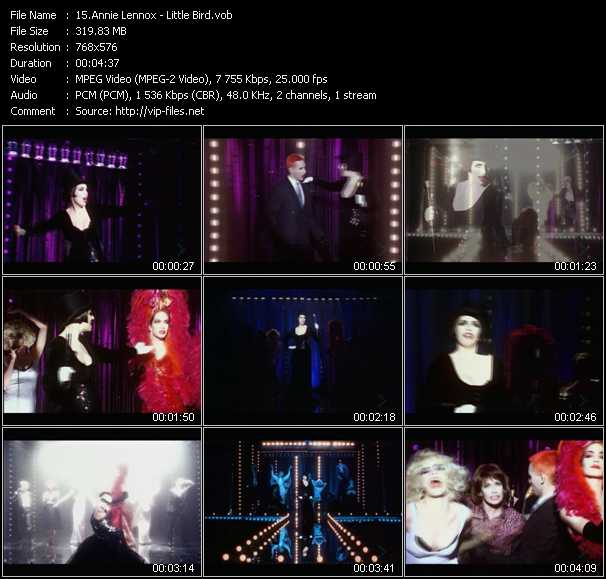 Annie Lennox HQ Videoclip «Little Bird»
