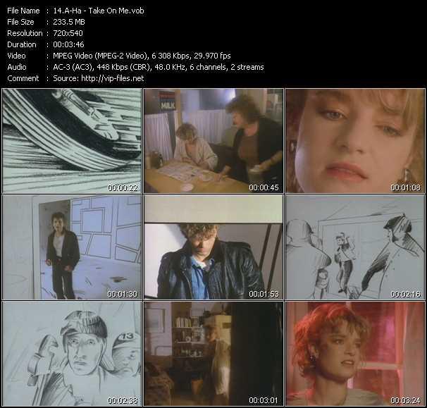 A-Ha music video Florenfile