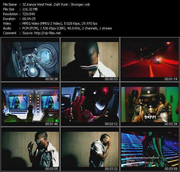 Kanye West Feat Daft Punk Stronger Vob File